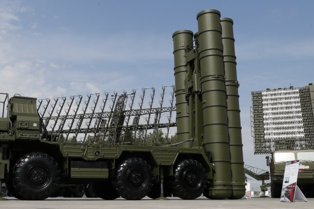 Turkey's purchase of the Russian S-400 missile defense system, an example of which is pictured in 2017, was described by members of a Congressional committee on Wednesday as unacceptable. File Photo by Yuri Kochetkov/EPA-EFE