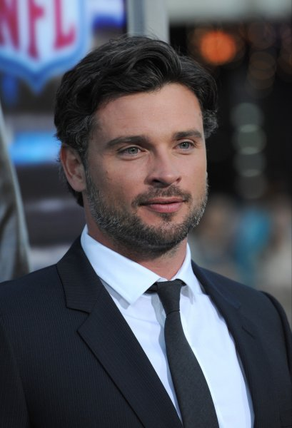 Smallville alum Tom Welling. The actor had a Smallville reunion along with Michael Rosenbaum and Ian Somerhalder who appeared briefly on the series. File Photo by Jaguar PS/Shutterstock
