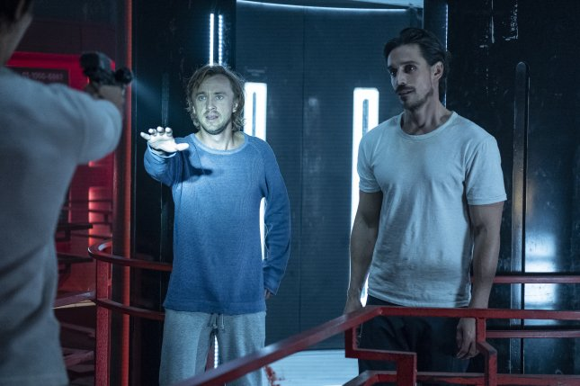 Tom Felton (L) and Philipp Christopher's new show Origin is to premiere Wednesday night. Photo courtesy of YouTube Premium