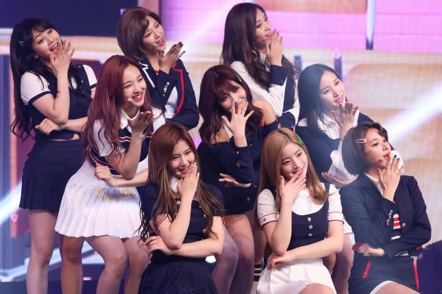 Twice achieved over 200 million views on YouTube with their music video for Like Ooh-Ahh. File Photo by Yonhap News Agency/EPA
