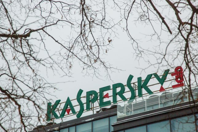 The Russian cyber security firm Kaspersky Lab confirmed it extracted sensitive files from a U.S. National Security Agency worker's computer, but said it wasn't deliberate. File photo by Sergei Ilnitsky/EPA
