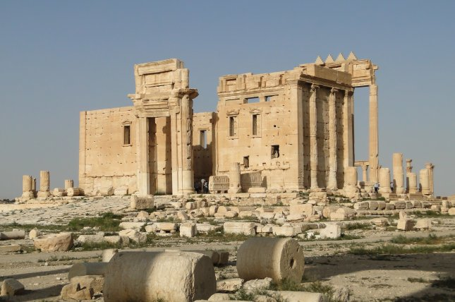 Syrian forces took back the ancient city of Palmyra from the Islamic State on Sunday. Officials in Syria said the terror group destroyed many historic structures in the city. Photo by Bernard Gagnon/Wikimedia