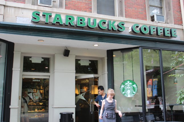 A Starbucks coffee shop in Philadelphia has come under fire after the manager there called police over two black men waiting inside the restaurant without ordering anything. File Photo by Billie Jean Shaw/UPI