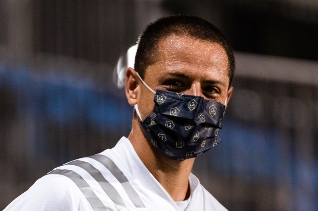 Javier Chicharito Hernandez scored his first MLS goal for the LA Galaxy in a 2-1 loss to the Portland Timbers Monday in Orlando, Fla. Photo courtesy of the LA Galaxy