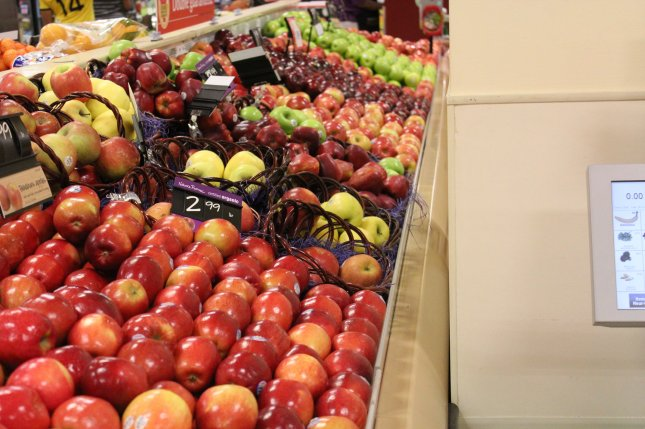 A new study shows that people who eat two or more servings of fruit per day are less likely to develop type 2 diabetes. File Photo by Billie Jean Shaw/UPI