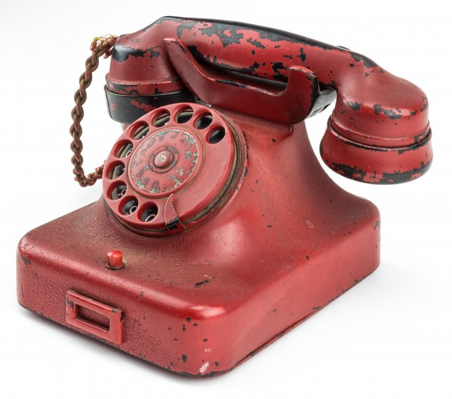 Adolf Hitler's red telephone sells at auction for more than $240000
