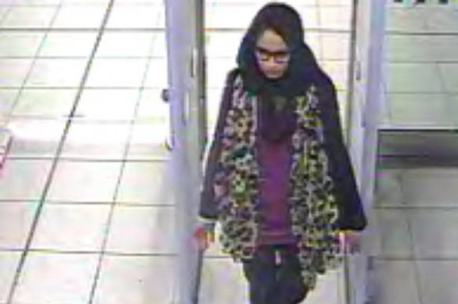 Shamima Begum was one of three schoolgirls who left Britain to join the Islamic State in 2015. Begum wants to return home now. File Photo courtesy of London Metropolitan Police/EPA-EFE