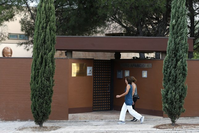 Retired U.S. Marine Christopher Ahn could be extradited to Spain but the FBI has raised concerns about Ahn's safety after the 2019 raid of the North Korean Embassy in Spain. File Photo by Mariscal/EPA-EFE