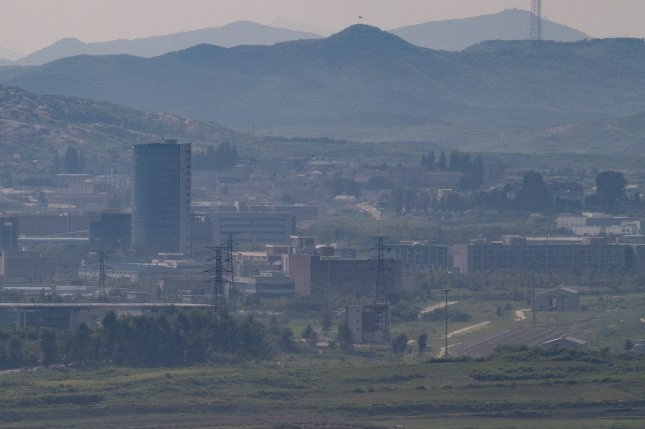 South Korea announced the suspension of operations at its inter-Korean complex in the North Korean border town of Kaesong, seen here in this August 8, 2016, photograph. File Photo by Yonhap News Agency/UPI