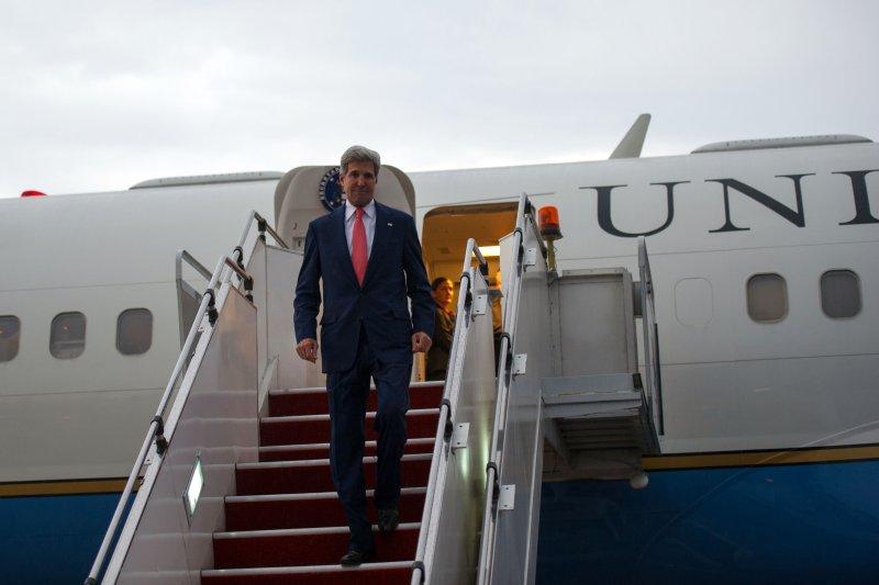 U.S. Secretary of State John Kerry on October 10, 2013. (UPI/State Department/William Ng)