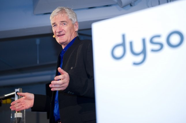 James Dyson announced Thursday that the company would shutdown its electric car project. Photo by Axel Heimken/EPA-EFE/