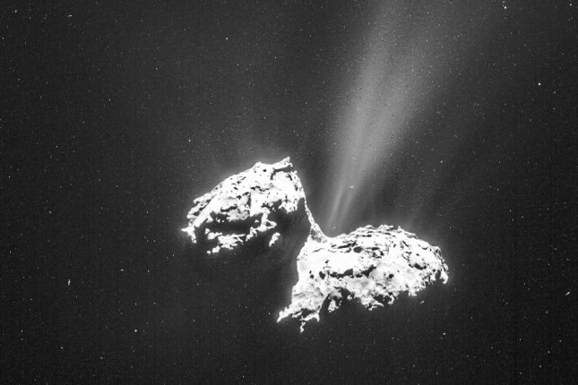 Scientists previously detected the presence of the amino acid glycine in the coma of the comet 67P/Churyumov-Gerasimenko. Photo by ESA