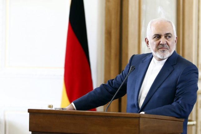 Iranian Foreign Minister Mohammad Javad Zarif on Tuesday called Britain's seizure of an Iranian tanker on July 4 piracy. File Photo by Abedin Taherkenareh/EPA-EFE
