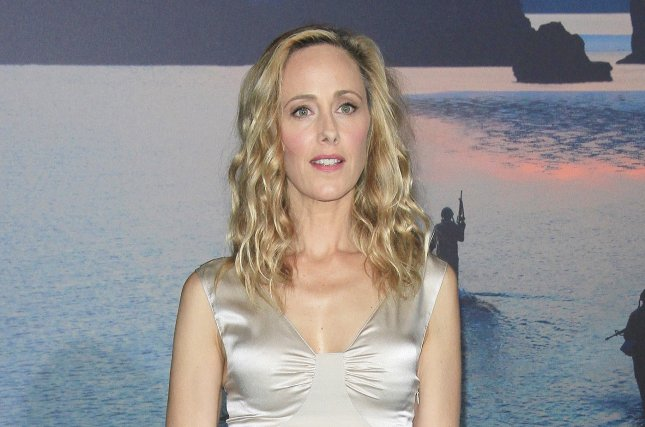 Kim Raver will reprise Dr. Teddy Altman in a season-ending arc on Grey's Anatomy. File Photo by Nina Prommer/EPA