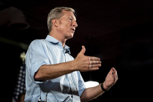 San Francisco billionaire Tom Steyer announced he will run for president in 2020.  Photo by Christopher Dilts/Need to Impeach