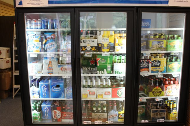 Retail alcohol sales are up considerably during the coronavirus pandemic, largely because Americans are eating -- and drinking -- at home. File Photo byBillie Jean Shaw/UPI