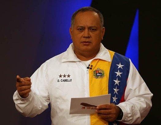 Diosdado Cabello Rondón, President (Speaker) of the National Assembly of Venezuela. Photo by the Venezuelan National Assembly.