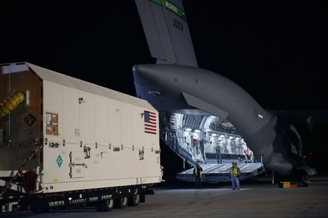 Lockheed Martin has shipped the U.S. Air Force's first GPS III to Cape Canaveral, Florida ahead of its expected December launch. Photo courtesy of Lockheed Martin