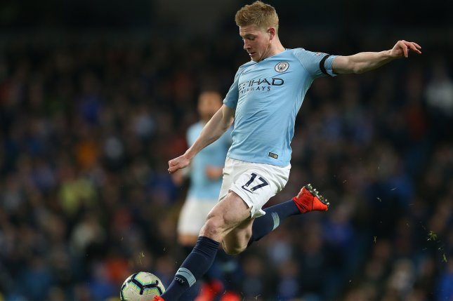 on sale 5a4a8 bbb00 Watch: Manchester City's Kevin De Bruyne snipes wonder goal ...