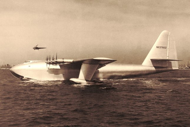 The H-4 Hercules Spruce Goose designed by Howard Hughes. File Photo courtesy the Federal Aviation Administration