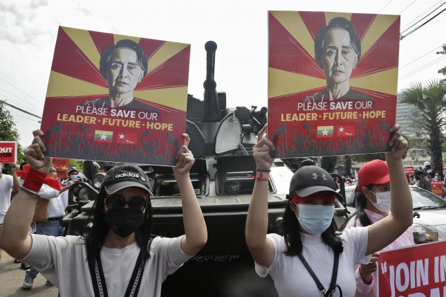 Myanmar military charges Suu Kyi with breaking official secrets law