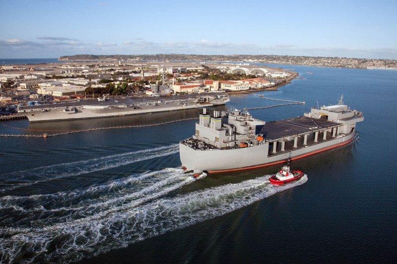 The USNS Hershel Woody Williams is set to receive Saab's Sea Giraffe multi-mode radar, the company announced this week. Photo courtesy of U.S. Navy