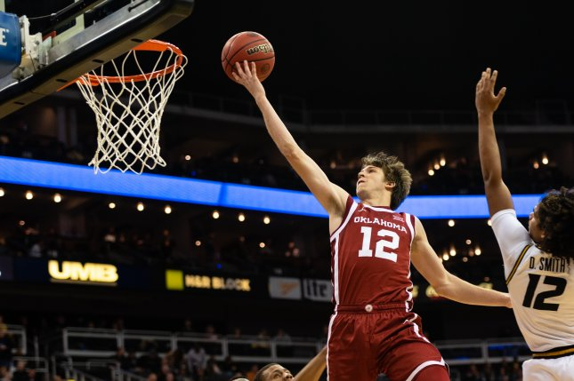 Oklahoma guard Austin Reaves scored a game-high 23 points in a win over Texas on Tuesday in Austin, Texas. Photo by Kevin VanEmburgh Photography/Wikimedia Commons
