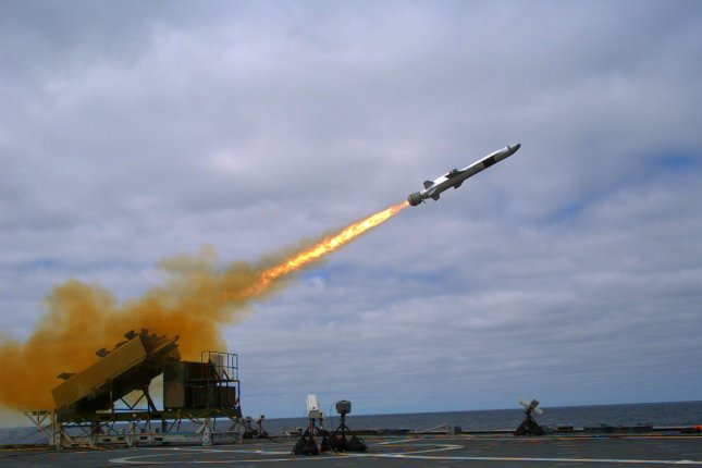 The Naval Strike Missile, produced by Raytheon and Kongsberg, has been chosen by the U.S. Navy for use on littoral combat ships and future frigates. Photo courtesy of Kongsberg Gruppen