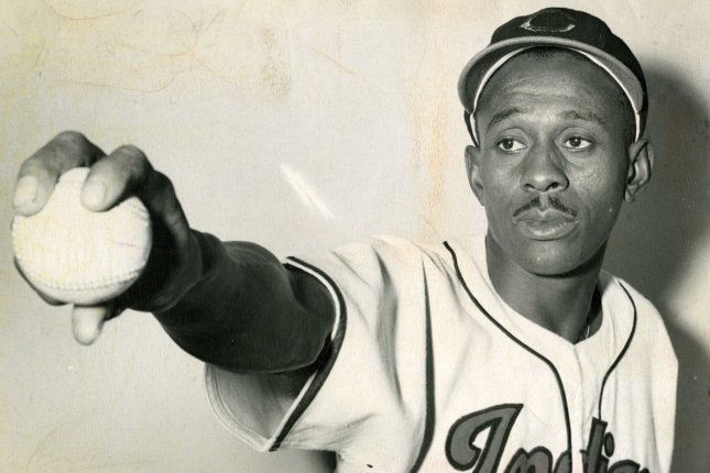 Pitcher Satchel Paige, shown in 1948 while with the Cleveland Indians, will have 20 years of additional data credited to his career statistics after MLB designated the Negro Leagues as major leagues. Photo courtesy of the Negro Leagues Baseball Museum