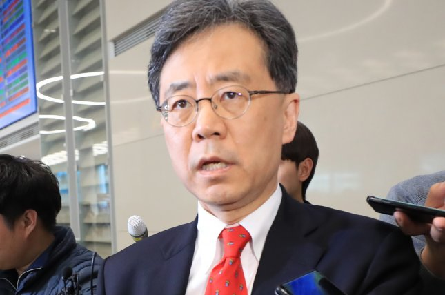 South Korea's deputy national security adviser returned from an unannounced trip to Washington on Friday, according to South Korean press reports. File Photo by Yonhap/EPA-EFE
