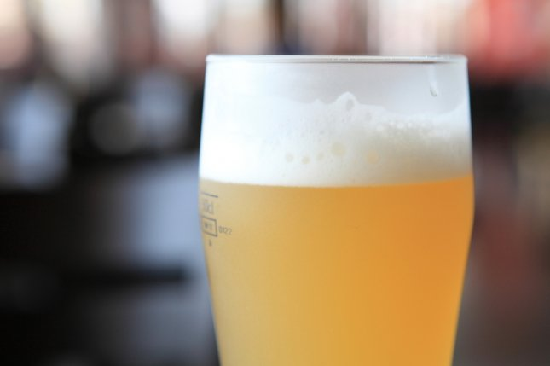 Light beer, in a glass. (UPI/Shutterstock/Piyato)