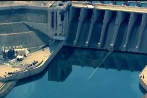 The International Coalition for Operation Inherent Resolve tweeted this photo of the Tabqa Dam in Raqqa, Syria on March 27, saying they are taking every precaution to ensure the integrity of the dam, which has been occupied by Islamic State extremists. Photo courtesy of International Coalition for Operation Inherent Resolve/Twitter