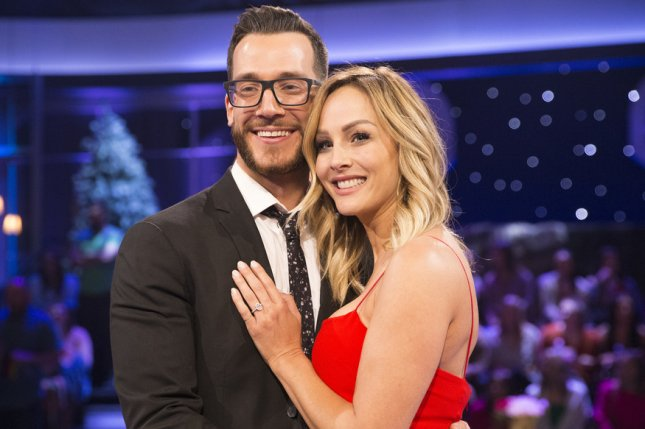 """The Bachelor Winter Games"" contestants Clare Crawley (R) and Benoit Beauséjour-Savard are engaged. Photo courtesy of ABC/Paul Hebert"