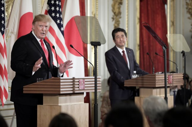 Trump hopeful about Japan trade deal; host not so much