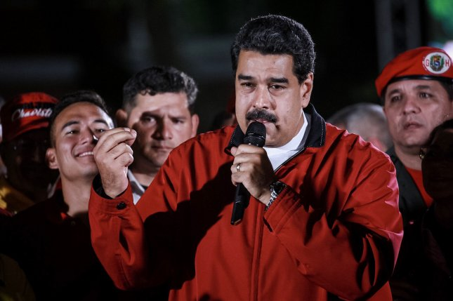 Venezuelan President Nicolas Maduro facing one of the worst economic collapses in modern history, the International Monetary Fund said. File Photo by Nathalie Sayago/EPA