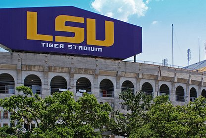 LSU will allow fans to buy alcohol and skip temperature checks when they enter Tiger Stadium for LSU's game against Missouri on Saturday in Baton Rouge, La. Photo courtesy of Wikimedia Commons