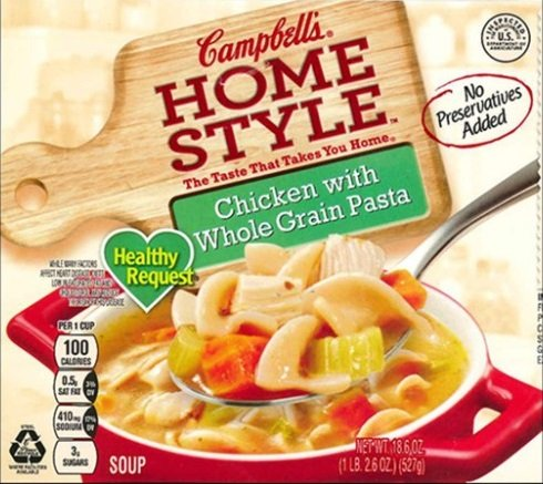 Campbell Is Recalling Chicken Soup After Packaging the Wrong Product