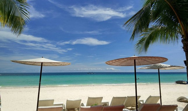 Officials in the Philippines said the tourism island of Boracay will close for six months to clean up sewage that's leaked into the ocean due of infrastructure problems. File Photo by Atahualpa Amerise/EPA-EFE