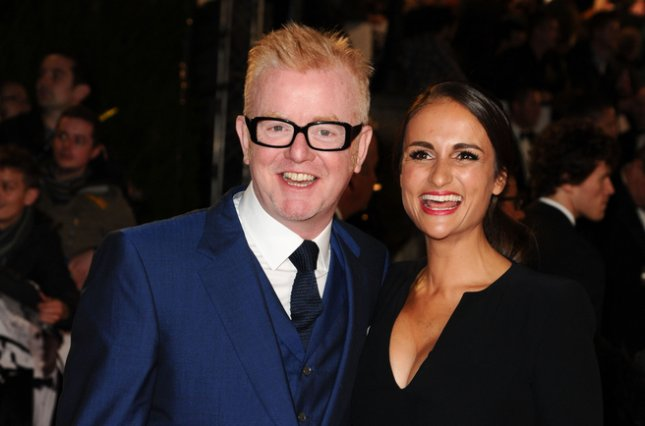 Chris Evans (L) hosts the new season of Top Gear, which premiered Monday to reportedly low ratings. File Photo by Steve Vas/Shutterstock