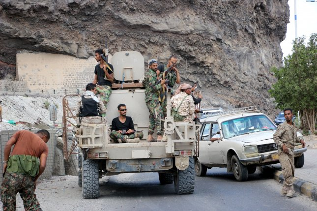 The Southern Transitional Council and the Arab Coalition have agreed to a cease-fire after the separatists seized control of the southern port city of Aden on Saturday. Photo by EPA-EFE/STR