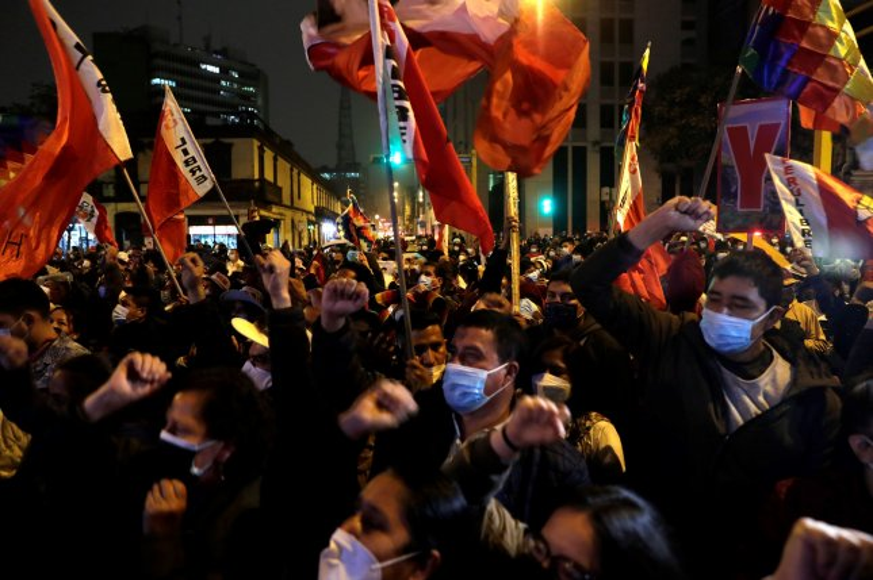 Peru declares Pedro Castillo president after weeks of electoral dispute