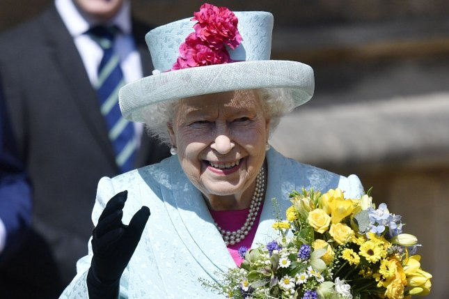 Britain's Queen Elizabeth, shown here at an Easter service in 2019, will not spend this Christmas at Sandringham Palace due to COVID-19 restrictions. File Photo by Neil Hall/EPA-EFE