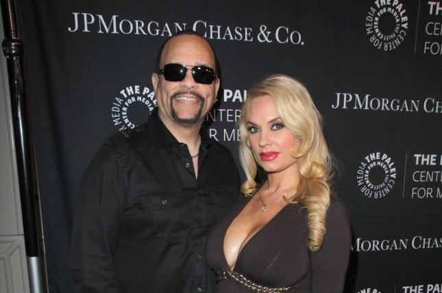 Coco Austin and husband Ice-T at the Paley Center's Hollywood Tribute to African-Americans in TV in 2015. File Photo by Helga Esteb/Shutterstock