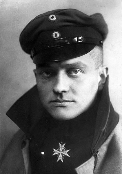 Baron Rittmeister Manfred von Richthofen, famous German aviator, was killed Sunday in the Somme Valley, it was announced today. File Photo by C.J. von Duhren