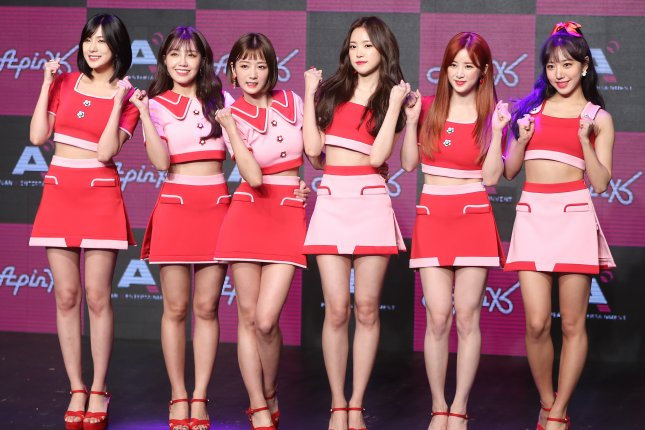 Apink shared a clip of its Everybody Ready? music video. File Photo by Yonhap News Agency/EPA