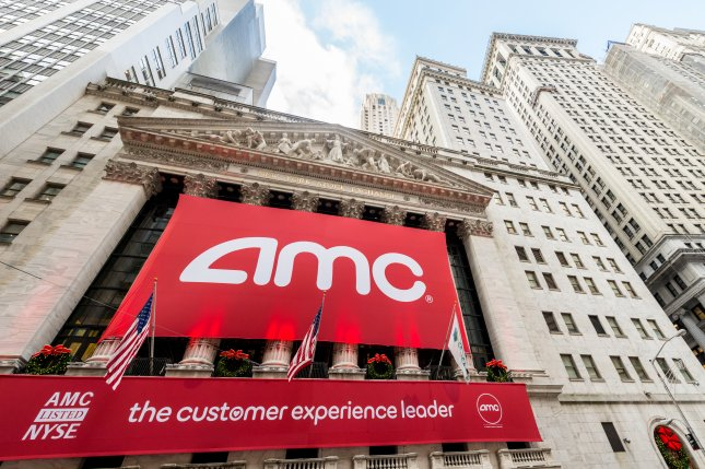The AMC movie theater chain is opening many locations next month. The company says it has invested in high-tech sanitation. File Photo by Elnur/Shutterstock