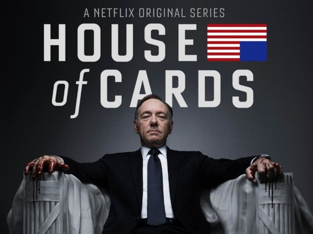 Kevin Spacey plays ambitious Frank Underwood in the Netflix original series House of Cards. Netflix