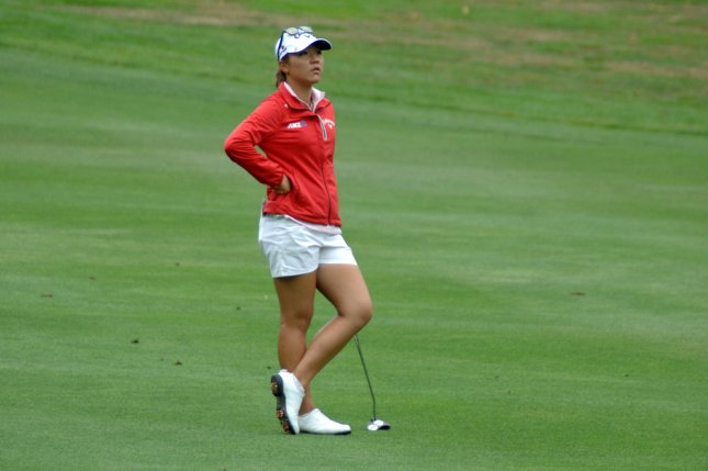 World No. 1 Lydia Ko of New Zealand competes at the Canadian Pacific Women's Open golf tournament at the Vancouver Golf Club in Coquitlam, Canada, on Aug. 20, 2015. Photo by Sergei Bachlakov / Shutterstock.com