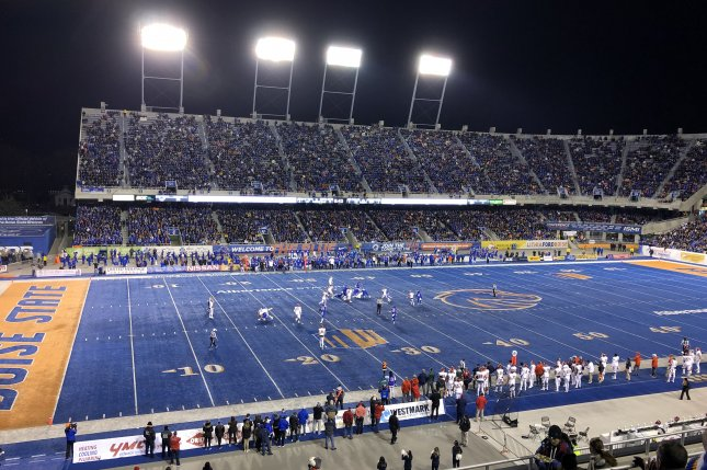 Boise State University, and the Mountain West's 11 other member schools, can resume their college football seasons Oct. 24 after conference officials approved a plan to play on Thursday night. Photo courtesy of Wikimedia Commons