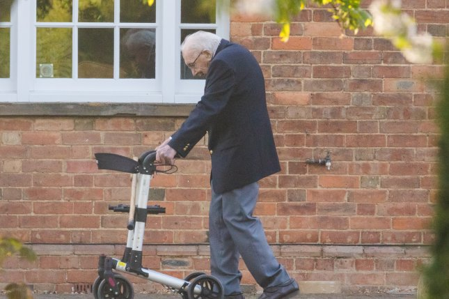Britain's Centenarian Fundraiser Captain Tom Moore Admitted to Hospital With Covid-19